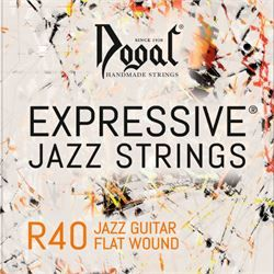 Linea Rossa Vintage Jazz long Scale Flat Wound